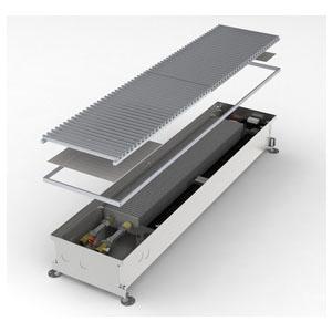Конвектор встраиваемый в пол с вентилятором MINIB COIL-KT3-1250 (без решетки)