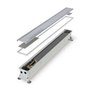 Конвектор встраиваемый в пол с вентилятором MINIB COIL-KTО-3000 (без решетки)