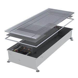 Конвектор встраиваемый в пол без вентилятора MINIB COIL-PMW205-2000 (без решетки)