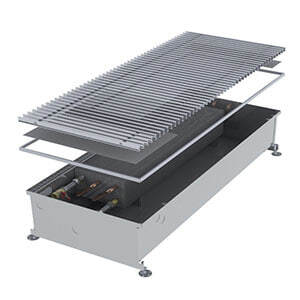 Конвектор встраиваемый в пол без вентилятора MINIB COIL-PMW205-900 (без решетки)