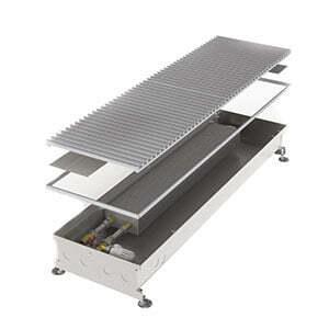 Конвектор встраиваемый в пол без вентилятора MINIB COIL-PT-1250 (без решетки)
