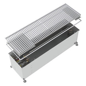 Конвектор встраиваемый в пол без вентилятора MINIB COIL-PT300-1250 (без решетки)