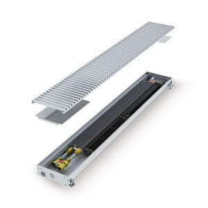 Конвектор встраиваемый в пол с вентилятором MINIB COIL-T50-1500 (без решетки)