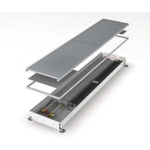 Конвектор встраиваемый в пол с вентилятором MINIB COIL-T60-1750 (без решетки)