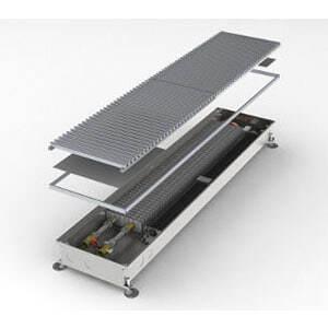 Конвектор встраиваемый в пол с вентилятором MINIB COIL-T80-3000 (без решетки)