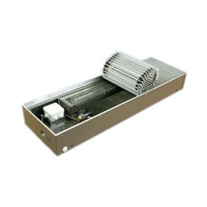 """Медно-алюминиевые конвекторы ISOTERM """"Golfstream 12V"""" КВК 12- 27.11.100  для встраивания в пол с принудительной конвекцией, алюминиевая решетка"""