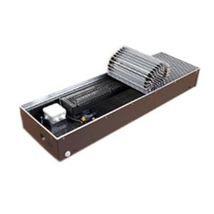 """Медно-алюминиевый конвектор ISOTERM """"Golfstrеam-V"""" КВК 27.14.180 для встраивания в пол с принудительной конвекцией, алюминиевая решетка"""