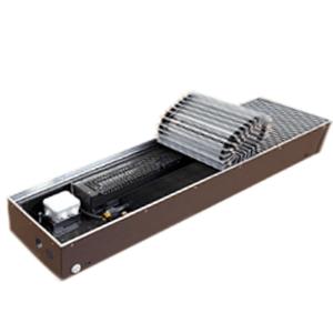 """Медно-алюминиевый конвектор ISOTERM """"Golfstrеam-V"""" КВКД 37.11.180 для встраивания в пол с принудительной конвекцией, алюминиевая решетка"""