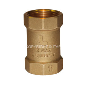 ITAP Block 101 1 1/4 Клапан обратный пружинный с пластиковым седлом