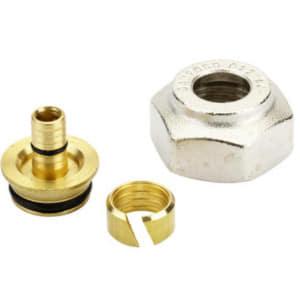 Компрессионный фитинг Danfoss внутренняя резьба G 3/4 для полимерных труб (PEX) 18 x 2,5 мм, арт. 013G4159