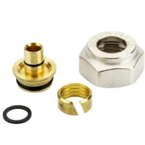 Компрессионный фитинг Danfoss внутренняя резьба G 3/4 для металлополимерных труб (ALUPEX) 18 x 2 мм, арт. 013G4188