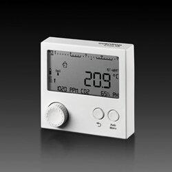 """Комнатный контроллер Oventrop """"R-Tronic RTFC K"""" со встроенными датчиками влажности и содержания CO₂, (настенный) 1150682"""