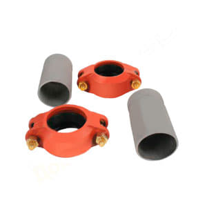 Meibes G комплект подключения насосных групп FL-UK/MK к отопительному контуру (2 шт) Victaulic - HP Ду 40. Артикул (66259.26)