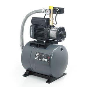 Установка повышения давления Grundfos CMB 5-37 (бак 60 литров) .97766990